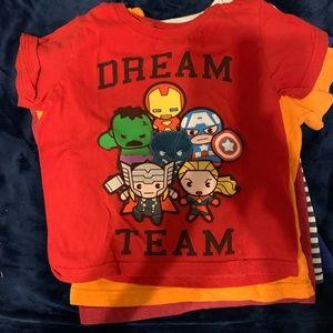 4T 6 shirts